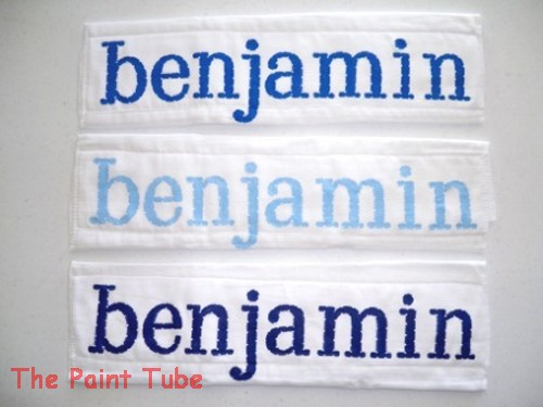 The paint tube custom baby gifts painted personalized items englewood nj 07631 negle